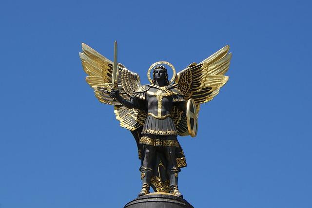 ①神に一番近いリーダー的存在「大天使ミカエル」