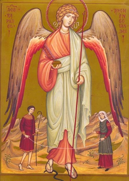 ③癒やしの力「大天使ラファエル」