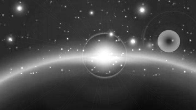 宇宙の光 地球