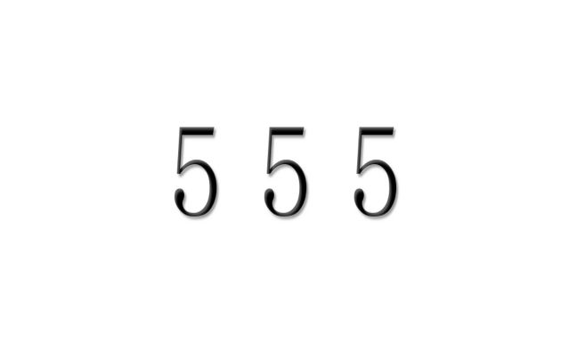 エンジェル ナンバー もうすぐ 555