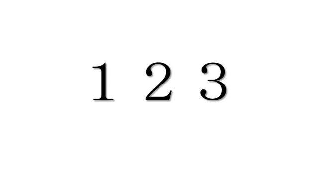エンジェルナンバー「123」を見た時の重要な6の意味