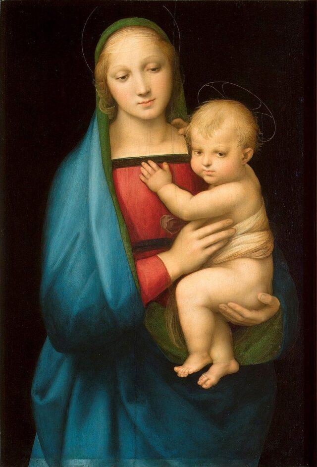 聖母子 by ラファエロ・サンティ 聖母マリア