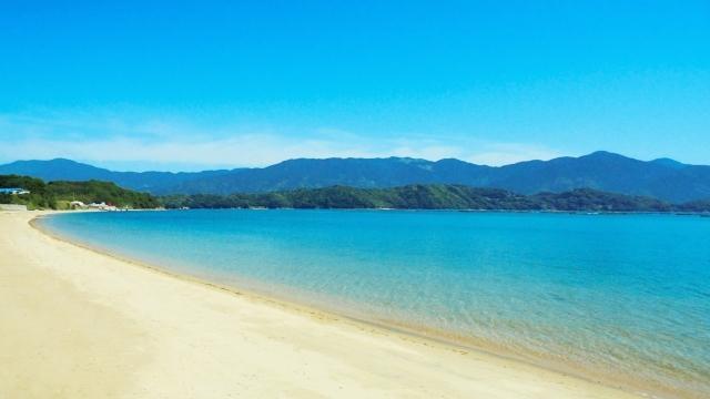 海 浜辺 ビーチ 海水