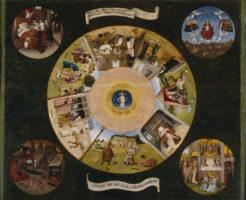 ヒエロニムス・ボスの『七つの大罪と四終』