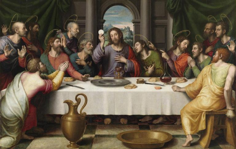 ビセンテ・フアン・マシップ作「最後の晩餐」