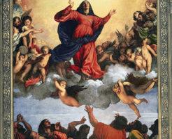 聖母の被昇天 ティツィアーノ・ヴェチェッリオ画