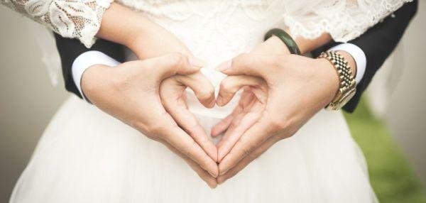 結婚 結婚式 ハート