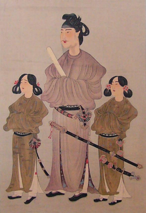 「唐本御影」聖徳太子が描かれた肖像画