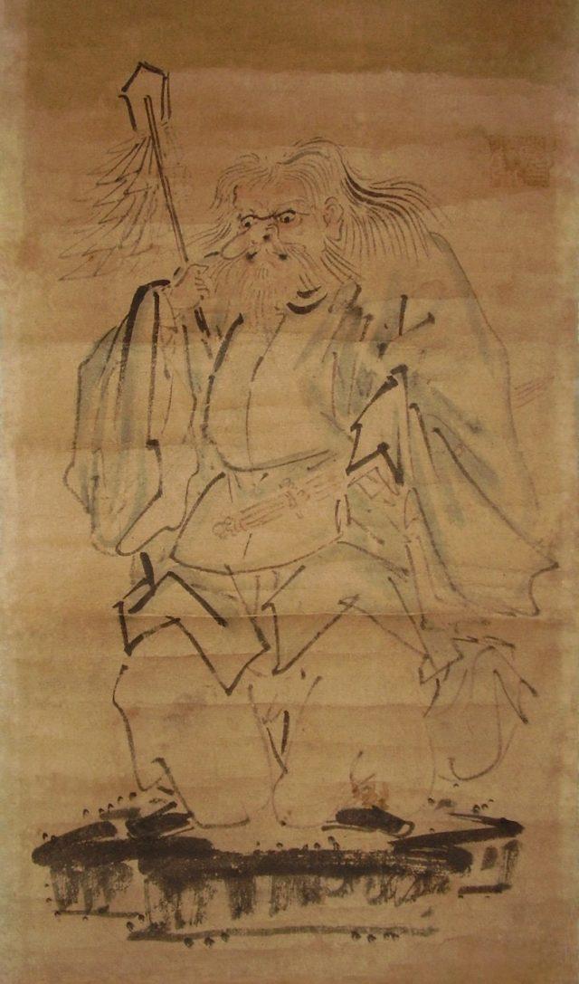 猿田毘古大神(19世紀後期画)