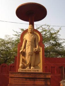 チャンドラグプタ像