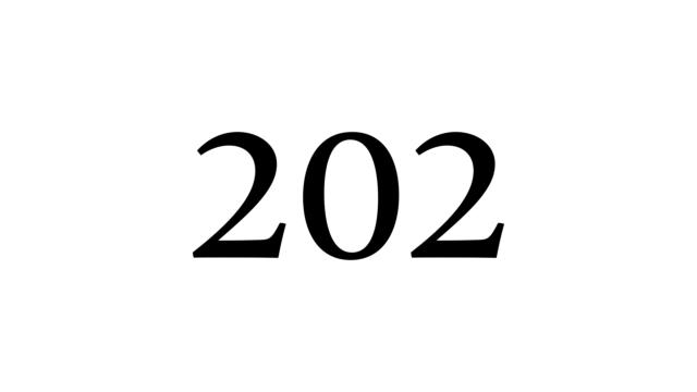 202 数字 数秘術 ナンバー